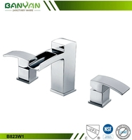 Banyan Stylish outside 3 PCS water fall faucets