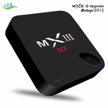 MXIII-G 2gb 16gb Amlogic S912 Android 6.0 TV Box 4K with 1000M LAN MXIII G mini pc upgrade from Amlogic S812 android 5.1 tv box