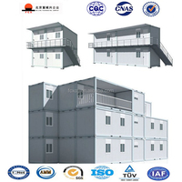 2016 New Design Energy Saving Prefab Flatpack Container House for Sale