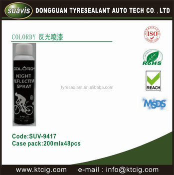 china manfactory aerosol reflective paint
