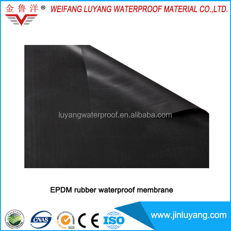 factory supply excellent epdm roofing material for flat roof
