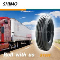 ST936 SHIMO 11r/22.5 10r 22.5 recap truck tires made in korea