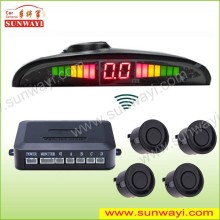 For truck/bus/trailer/pickup/van/sedan LCD LED wireless car parking sensor