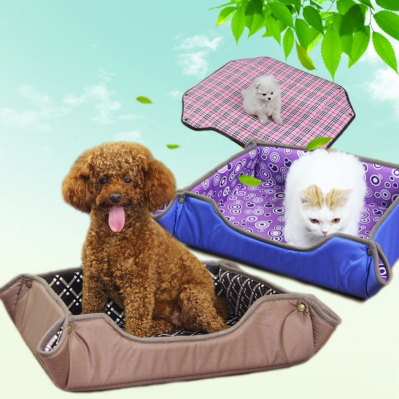 Professional custom design double usage multi functional dog bed