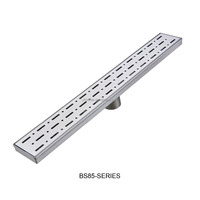 Excellent Quality Types Stainless Steel Linear Shower Drain /Concealed Floor