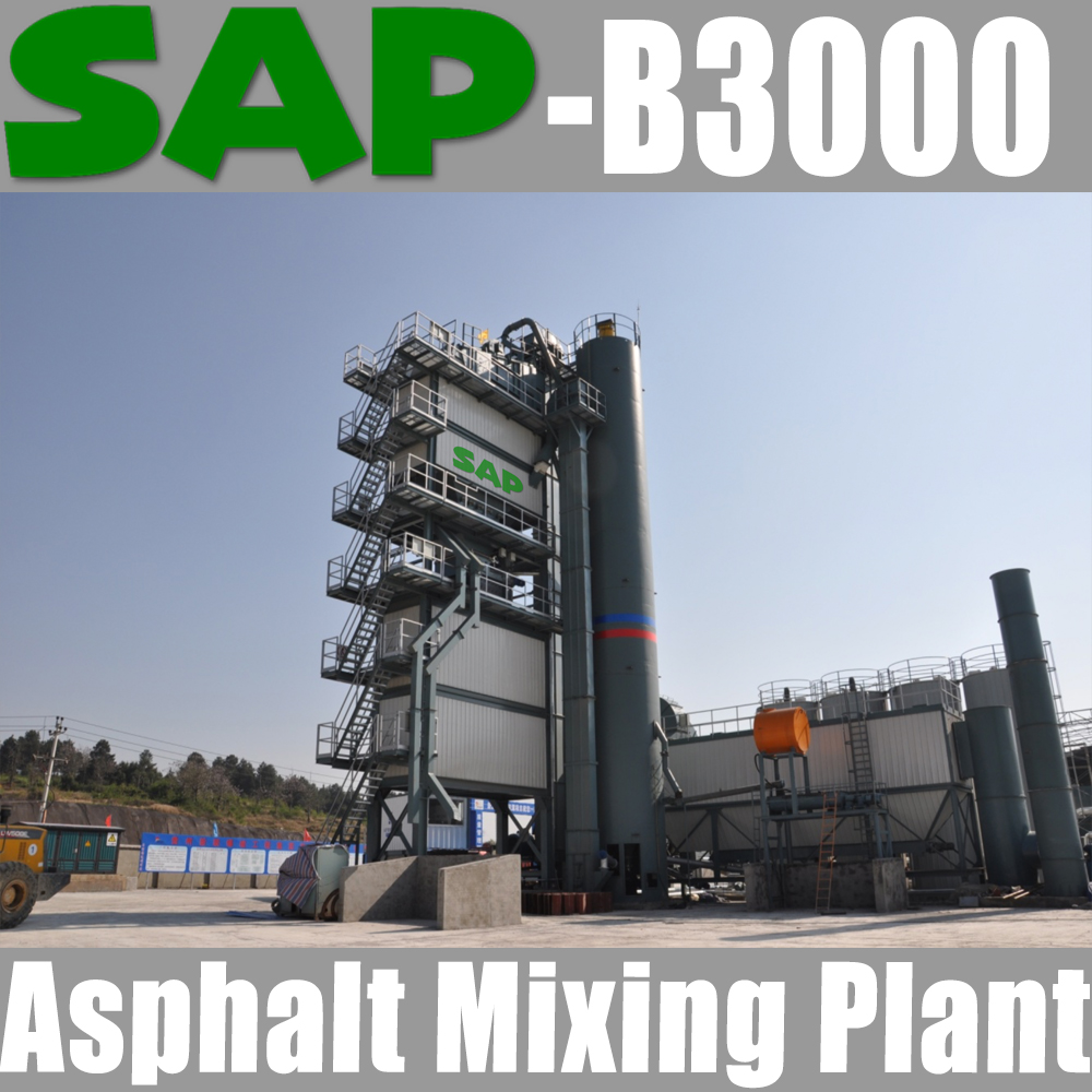 SAP-B3000 Benninghoven Technology Asphalt Mixing Plant / Batching Type