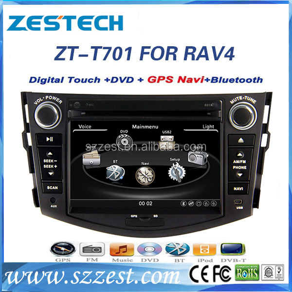 ZESTECH Double Din Touch Screen Car Radio Audio GPS Navigation System DVD Player for Myvi