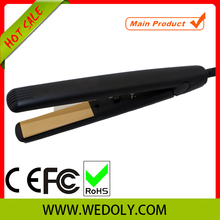 2014 hot dial popular 100% Solid Ceramic hair straightening devices