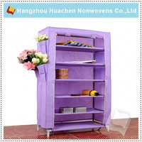 SGS Certificated Manufacturer Non-woven Shoes Cabinet Dustproof