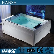 HS-BC653 hydrotherapy whirlpool/ massage whirlpool/ whirlpool massage bathtube with led lights
