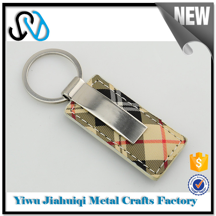 Chinese exports sweet heart pu leather keychain bulk products from china