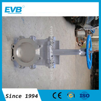 SS API Knife Gate Valve with electric actuator