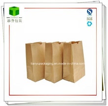 food grade Greaseproof Biodegradable Small Kraft Paper Bag