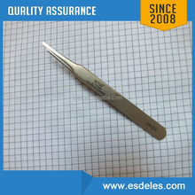 ESD stainless steel coating tweezers w/ or w/o coating