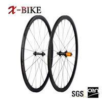 2016 X-BIKE high profile strong capacity of acceleration carbon fiber road wheel