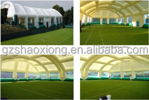 Durable Dome Inflatable Event Tent , Huge Tennis Field Inflytable Shelter