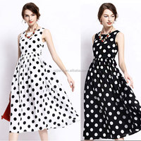 middle aged lady fashion sleeveless chiffon simple long dress design , beach sexy summer dress for mature woman