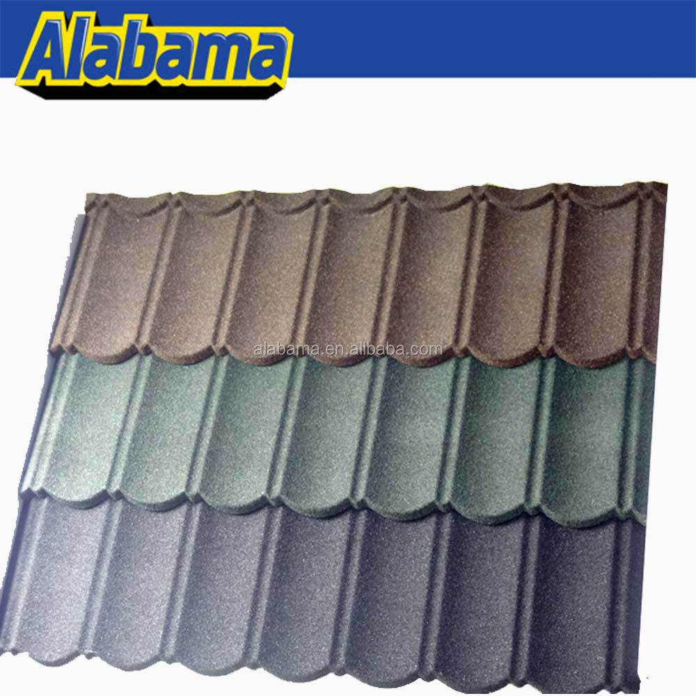 Metal Stone Coated Kerala Steel Roof Tile Prices