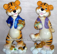 Polyresin sex&naughty cartoon tiger statues