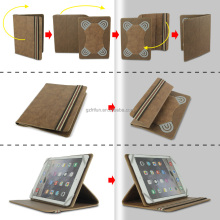 2017 trend luxury PU leather universal tablet case ,customize 9-10 inch free sample cover for ipad