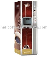 Coin operated coffee vending machine