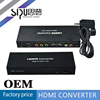 SIPU multi media hdmi to pbpr+vga converter box for projector