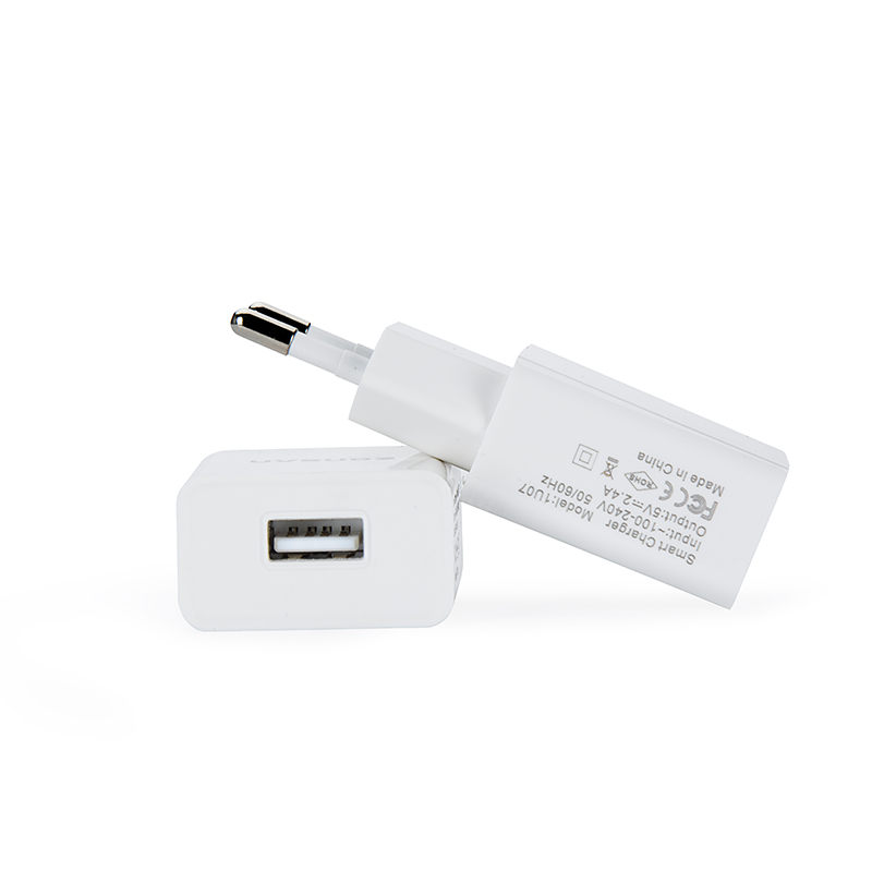Factory Wholesale Portable Direct 1 Port USB Mobile Phone Travel Charger