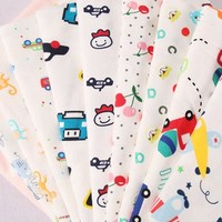 new design healthy custom cartoon print interlock baby cotton fabrics african wholesale product