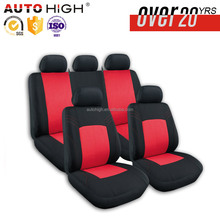 The Latest Production 9pcs full set polyester fabric fur car seat cover leather for toyota axio