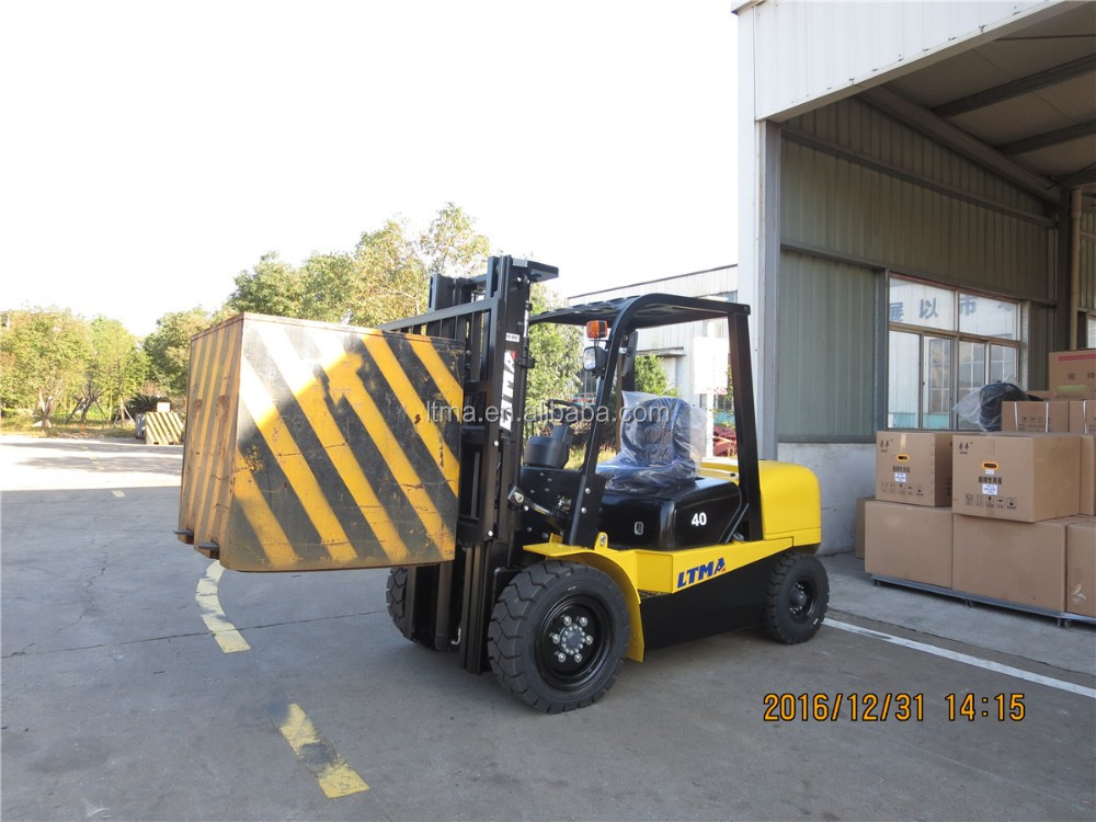 Chinese brand forklift LTMA 4 ton diesel forklift with best price