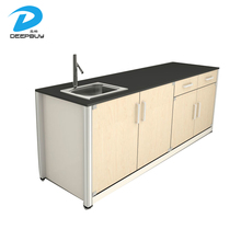 China Hospital Furniture Cabinet HPL Clinic Dental Cabinet For Sale