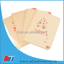 Softcover notebook for promotion/English writing book/softcover notebook