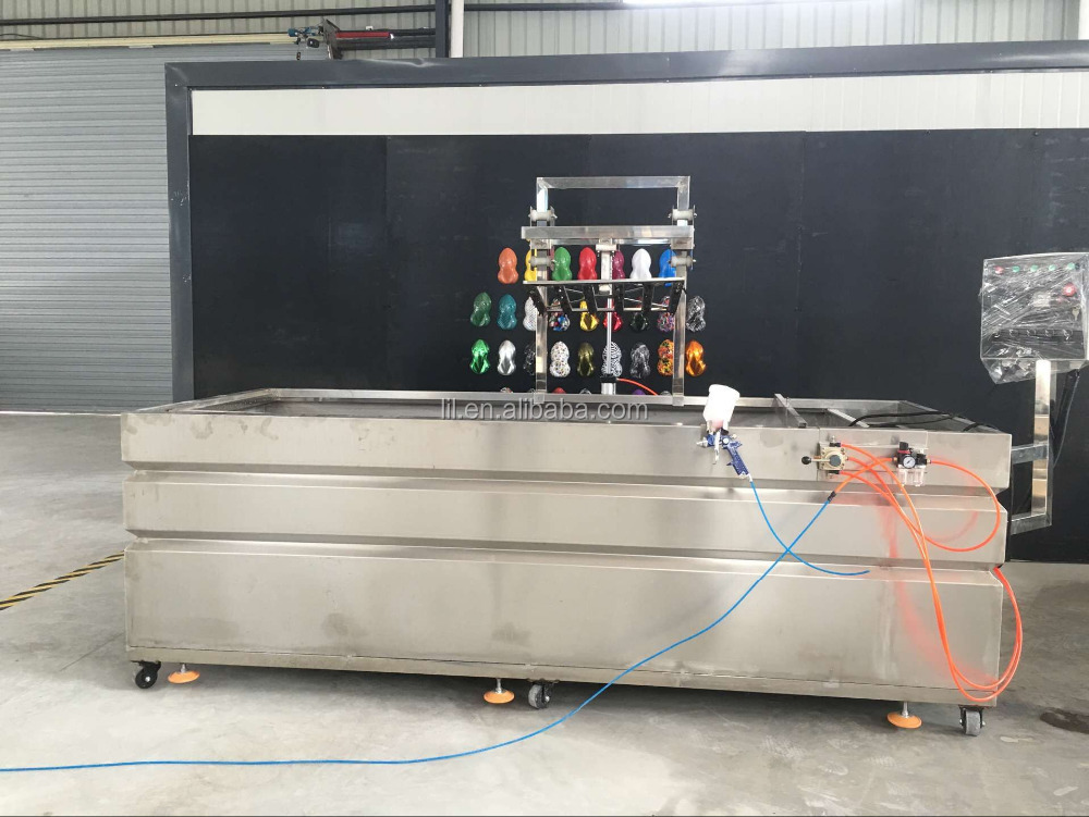 LYH-WTPM052-1Automatic manual water transfer printing dipping machine/hydrographic printing dipping tank