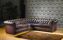 S181 New model classic half moon leather sofa sets