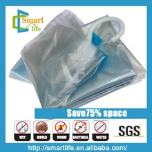 Vacuum hang compressed bags for Down jacket