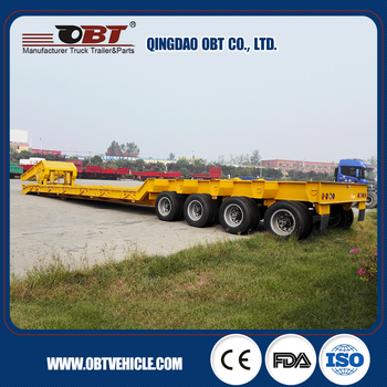 Super load multiple lines modular trailer