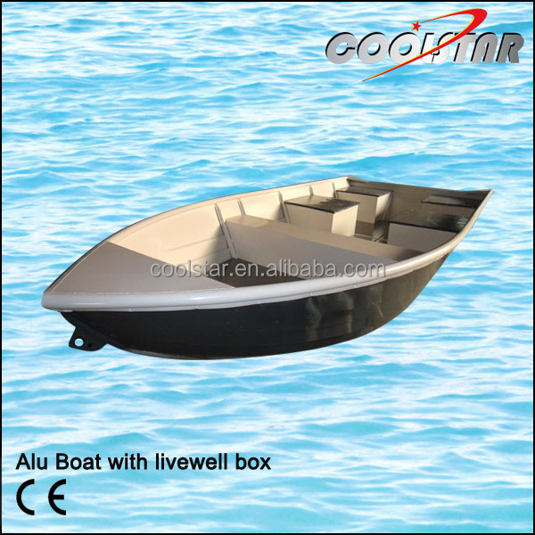 Aluminum boat with livewell box buy aluminum boat with for Fish livewell for boat