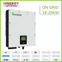 Waterproof With Lcd Display 3phase 380v Pv Grid Tie Solar Inverter 18kw