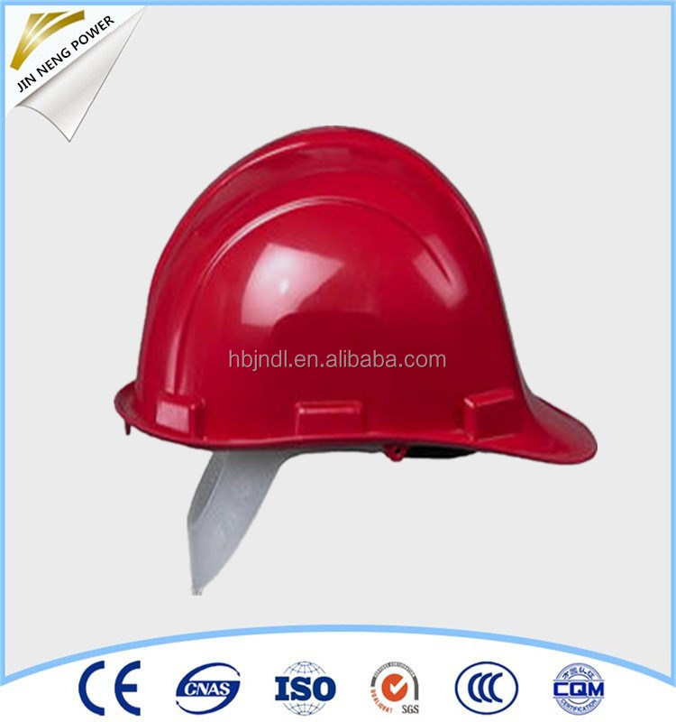 Various Styles ABS Safety Helmet with Chin Strap