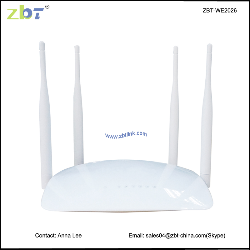 cheapest 300Mbps wifi modem MT7620N network router