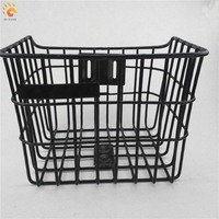 hot sale motorized bicycle parts motorcycle stainless steel bicycle basket
