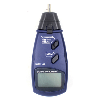 Portable Photo tachometer Non-contact Surface speed meter Digital Tachometer