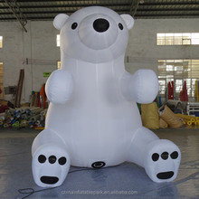 cheap Inflatable Christmas polar bear model for sale