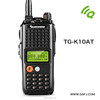 HOT!! Microcomputer control fast menu easy operation 8~9W Output 100 channels VHF or UHF amateur two way radio TG-K10AT