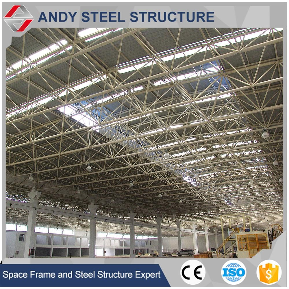 Prefabricated shopping center light steel structure