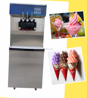 cnix electric ice cream with three color control