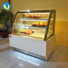 Factory price luxury bakery cake display cabinet chiller black marble Cake cooler chiller