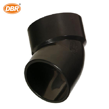 Plastic Pipe 1/4 Bend Short Turn Fittings For DWV Plumbing Schedule40 ABS Pipe Fittings