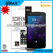 For LG mobile phone accessories,LG nexus 5 screen protector oem/odm (Anti-Glare)