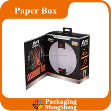 customize earphone wholesale paper box for shipping package